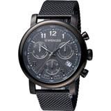 瑞士 WENGER Urban 經典米蘭帶計時腕錶 01.1043.108
