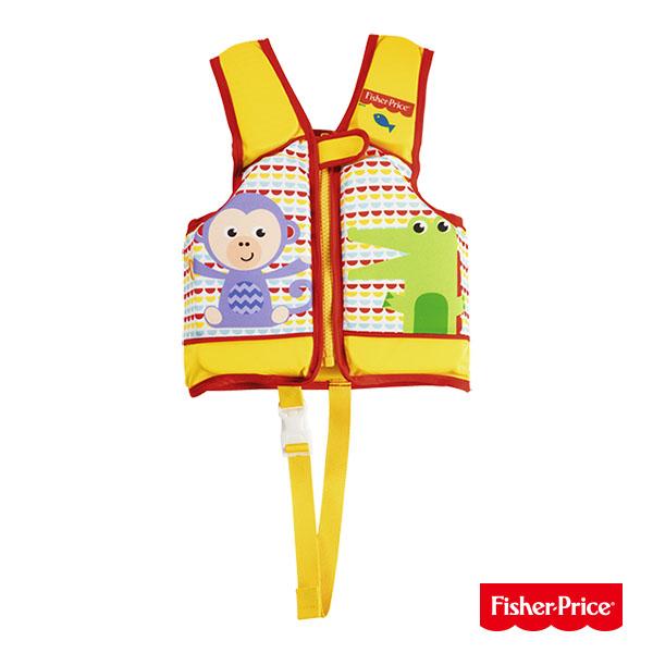 《購犀利》Fisher-Price幼兒水上安全助浮背心/充氣游泳衣
