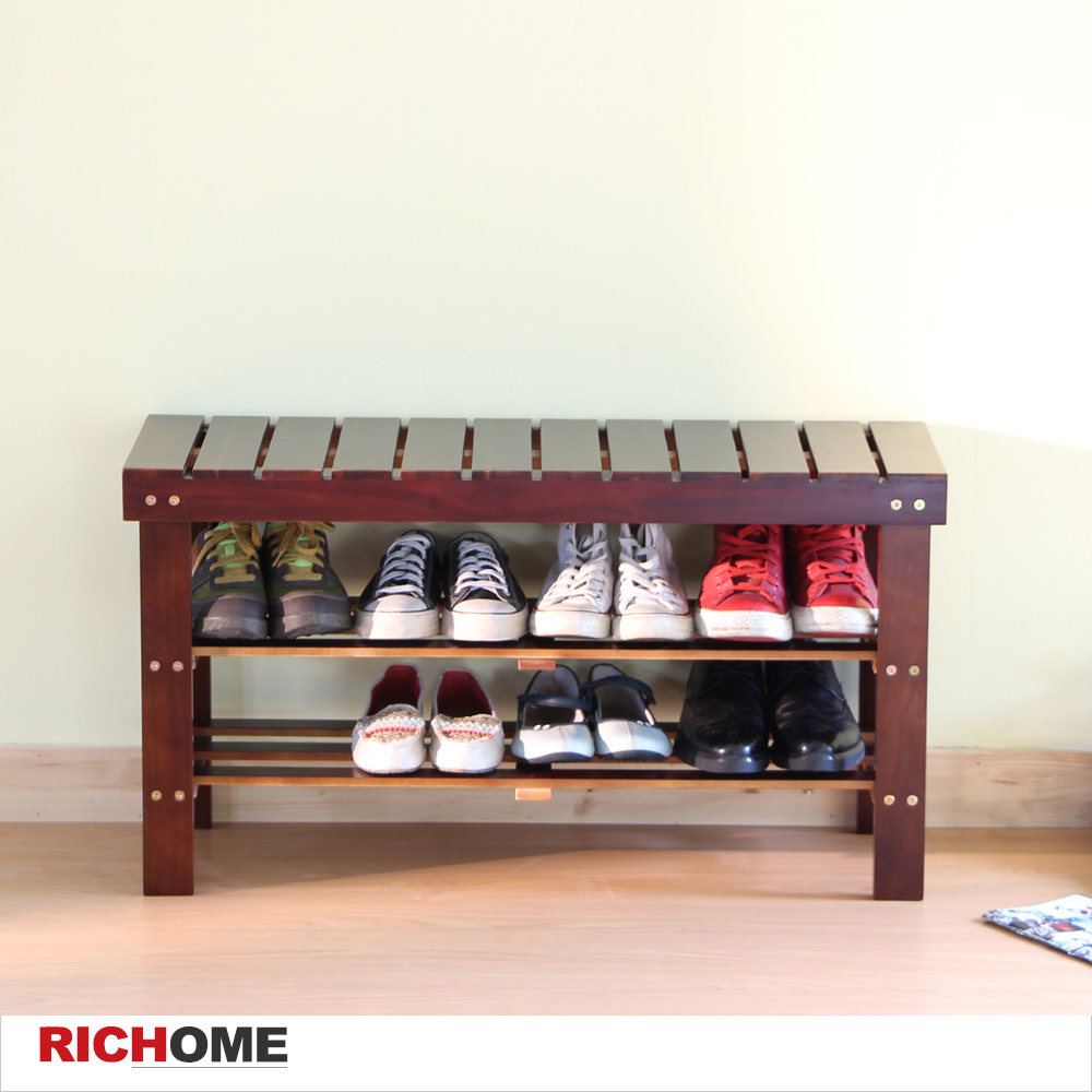 【RICHOME】路德穿鞋椅