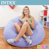 【INTEX】豆豆休閒充氣椅/懶骨頭椅-3色任選(68569)