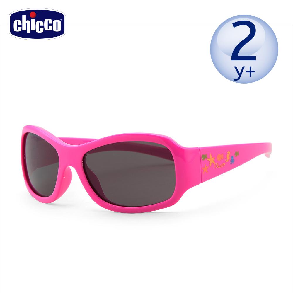 chicco-兒童專用太陽眼鏡-海底世界粉