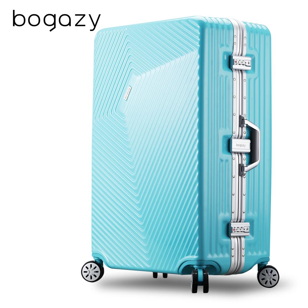 【Bogazy】王者風範 29吋PC鋁框行李箱