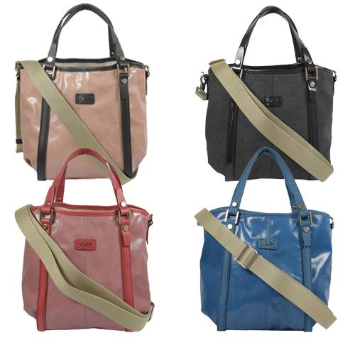 TODS G BAG 防水PVC皮飾邊兩用慾望包.多色