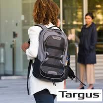 Targus Work + Play 15.6 吋健身運動後背包 (灰/黑)