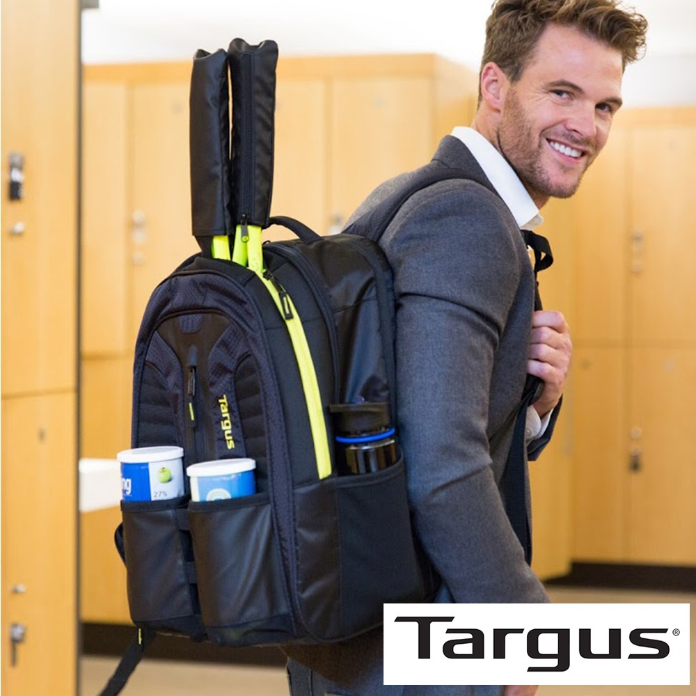 Targus Work+Play 15.6 吋網球拍電腦運動後背包