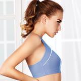 【黛安芬】運動內衣 高機能全方位運動背心M-EEL (躍動藍)