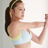 【蕾黛絲】動氧Bra 輕鋼圈 B-E罩杯運動內衣(輕氧藍)