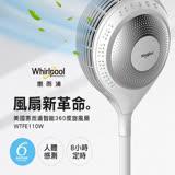 【Whirlpool惠而浦】智能360度旋轉風扇 WTFE110W