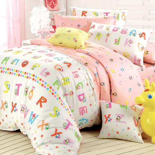 IN HOUSE -蜜蜂的甜蜜夢境-200織紗精梳棉-兩用被床包組(加大)