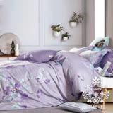 AGAPE亞加•貝【美好回憶】雙人5x6.2尺四件式精梳純棉涼被床包組-床包加高35cm