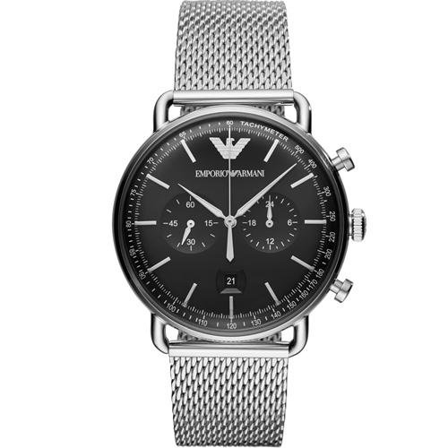 Emporio Armani 復刻時尚計時腕錶 AR11104