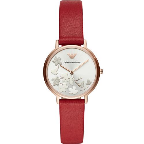 Emporio Armani 浪漫花語時尚腕錶  AR11114