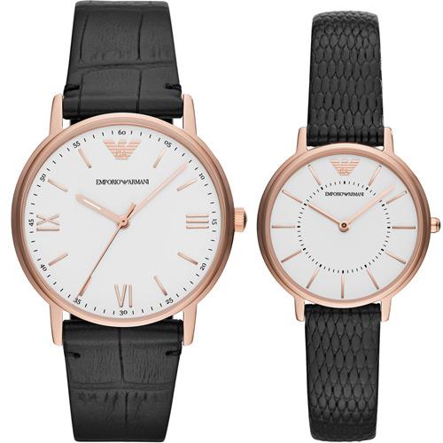 Armani  相遇時分時尚對錶 AR80015