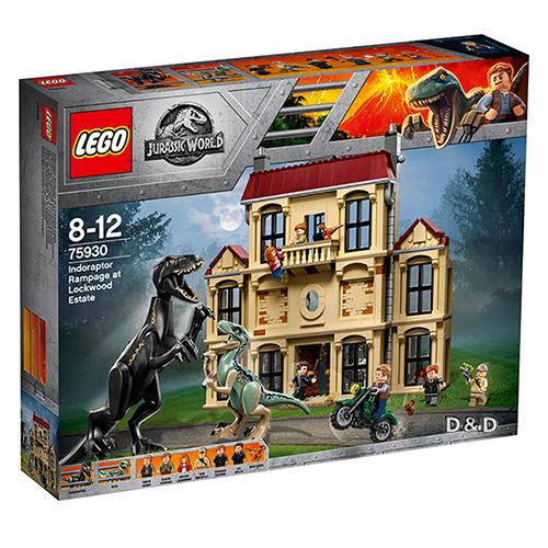 樂高積木 LEGO《 LT75930 》Jurassic World 侏儸紀世界系列 - 迅猛龍豪宅