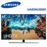 【SAMSUNG三星】65吋 4K UHD液晶智慧電視 UA65NU8000WXZW (含標準安裝)★加贈三星直立無線吸塵器(VS60K6050KW)市價12900★