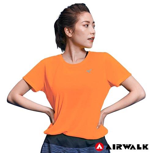 【AIRWALK】女款吸濕排汗T恤