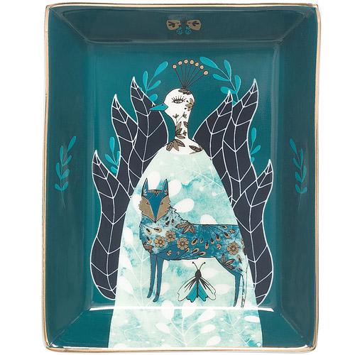 《DANICA》長方飾品收納盤(奇異森林)