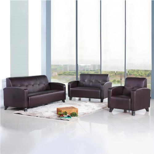 AS-夏洛特咖啡色沙發組1+2+3