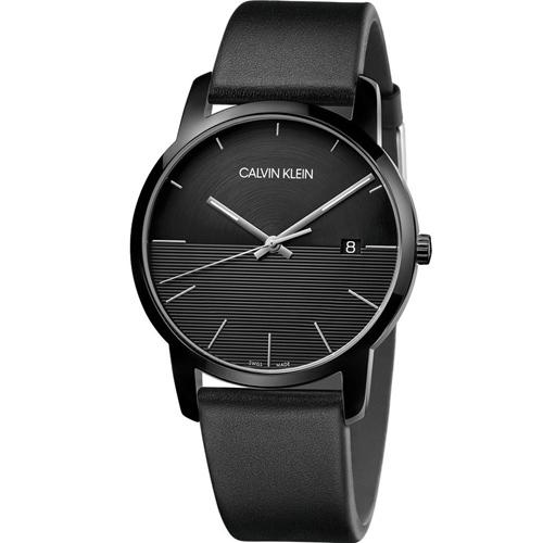 CALVIN KLEIN City都會系列時尚腕錶 K2G2G4C1