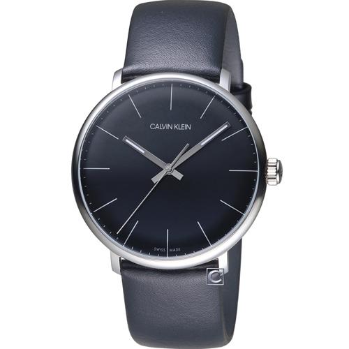 Calvin Klein high noon系列極簡腕錶 K8M211C1
