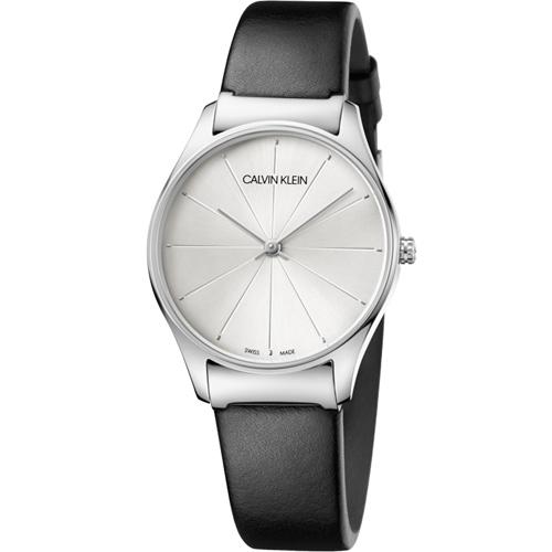 Calvin Klein Classic 經典設計款時尚錶 K4D221C6