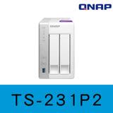 QNAP 威聯通 TS-231P2-1G 2-Bay NAS