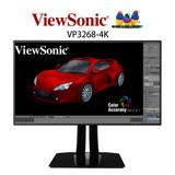 優派Viewsonic VP3268-4K 32型 AH-IPS專業液晶螢幕【刷卡含稅價】
