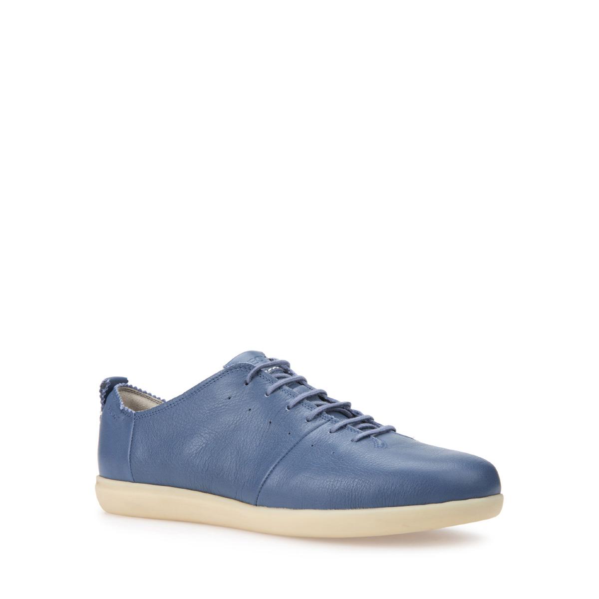 GEOX D NEW DO 義大利透氣鞋 設計師款 休閒鞋 藍色 (D724NA000854008)