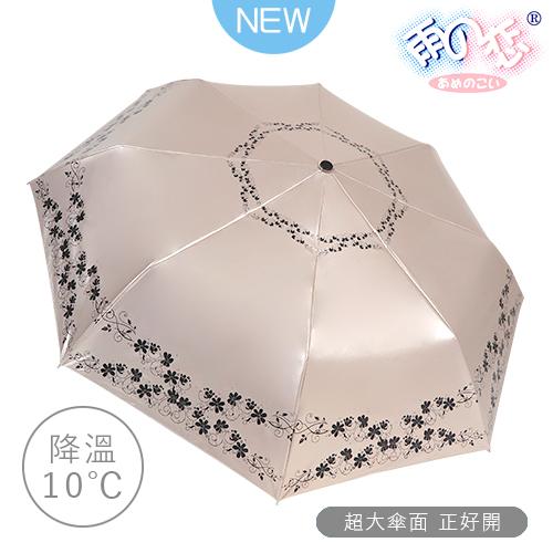 散熱降溫10度 特大傘面專櫃晴雨傘