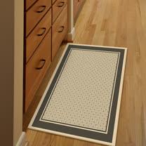 范登伯格 - 爵士 類亞麻進口地毯 -網點 (60 x 110cm)