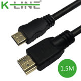 K-Line Mini HDMI to HDMI 4K影音傳輸線 1.5M(2入組)