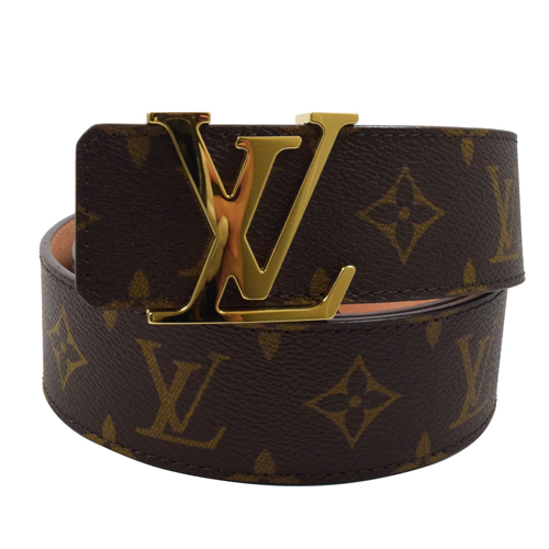 Louis Vuitton LV M9608T 經典花紋路易威登字母飾扣皮帶 95CM 現貨