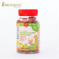 Bronson兒童綜合維他命軟糖(60顆/瓶 無糖 全素)