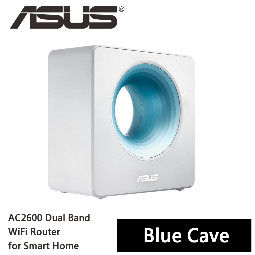 ASUS 華碩 Blue Cave AC2600 智慧家庭雙頻無線路由器