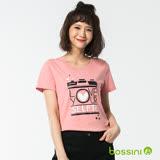 bossini女裝-印花短袖T恤29嫩粉