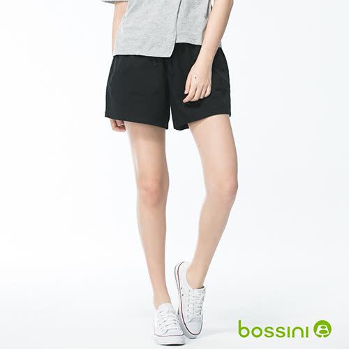 bossini女童-素色輕便褲裙01黑