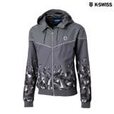 K-Swiss Gradient Windbreaker風衣外套-男-灰