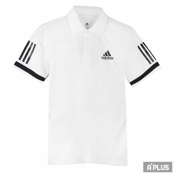 Adidas 男 CLUB 3STR POLO 愛迪達 POLO衫(短)- CE1415