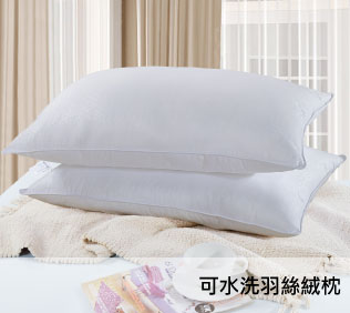 【柔得寢飾】ZEN 可水洗 羽絲絨枕(1入) ZPH01