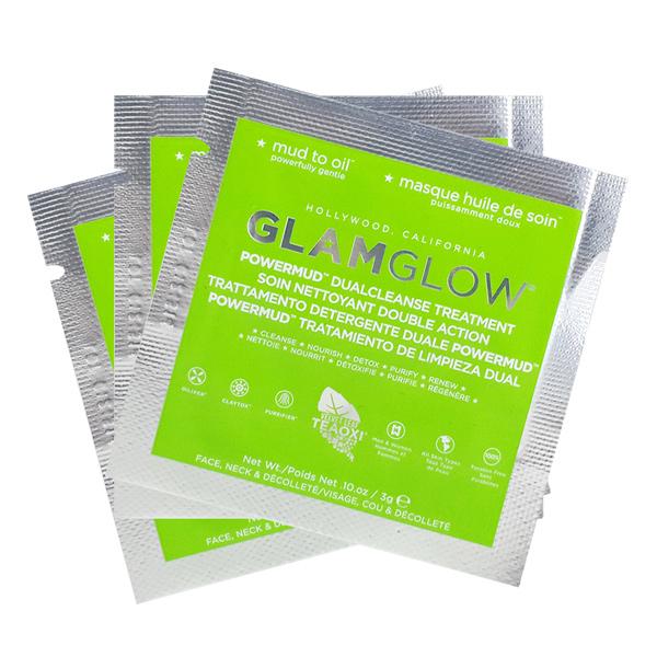 Glamglow 超能量淨化面膜(綠色) 3g 3入組