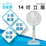 【大家源】14吋立扇TCY-8101