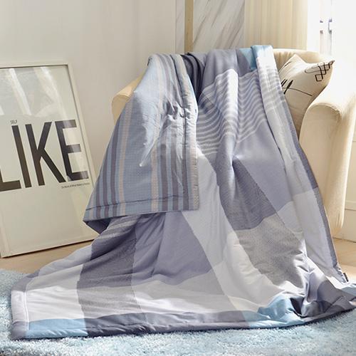 義大利La Belle《英式風格》純棉吸濕透氣涼被(5x6.5尺)
