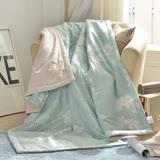 義大利La Belle《清秀佳人》純棉吸濕透氣涼被(5x6.5尺)
