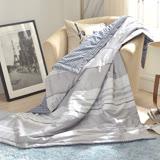 義大利La Belle《城市日光》純棉吸濕透氣涼被(5x6.5尺)