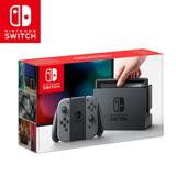任天堂 Nintendo Switch主機組合-灰色(台灣公司貨)+贈玻璃保貼+防塵豪華組