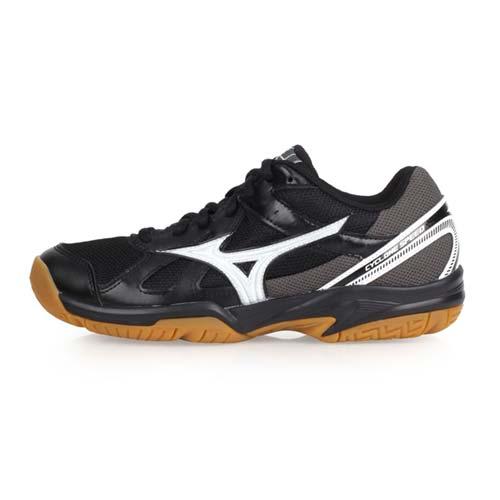 (女) MIZUNO CYCLONE SPEED 排球鞋-美津濃 黑銀