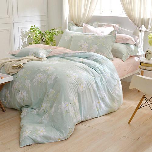 義大利La Belle  純棉防蹣抗菌兩用被床組