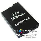 PSP 2007 / 3007 薄機專用2400mAh充電電池