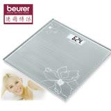 【德國博依 beurer】典雅花卉玻璃體重計 (GS10)