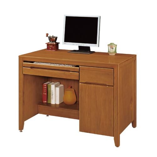 AS-克拉克3.5尺實木辦公桌-106x60.5x82.2cm